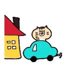 フサフサマユゲのネコさん(個別スタンプ:39)