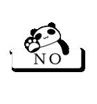 Funaの吹き出しパンダ(個別スタンプ:35)