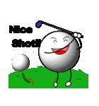 ゴルフに夢中(個別スタンプ:18)
