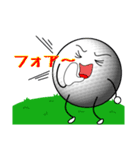 ゴルフに夢中(個別スタンプ:21)