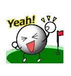 ゴルフに夢中(個別スタンプ:25)