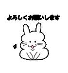 うさぽちゃ(個別スタンプ:01)