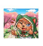 お祭りちゃんの奇想世界3(個別スタンプ:30)