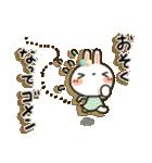 女子力UP!白うさぎさん日常パック(個別スタンプ:14)