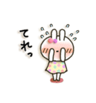 女子力UP!白うさぎさん日常パック(個別スタンプ:36)