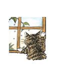 TVアニメ「猫のダヤン」(個別スタンプ:18)