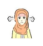 Lovely Aesha (Pastel Hijab)(個別スタンプ:02)