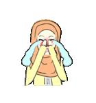 Lovely Aesha (Pastel Hijab)(個別スタンプ:03)
