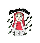 Lovely Aesha (Pastel Hijab)(個別スタンプ:10)