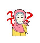 Lovely Aesha (Pastel Hijab)(個別スタンプ:15)