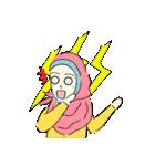 Lovely Aesha (Pastel Hijab)(個別スタンプ:16)