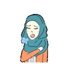Lovely Aesha (Pastel Hijab)(個別スタンプ:20)