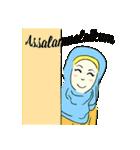 Lovely Aesha (Pastel Hijab)(個別スタンプ:26)