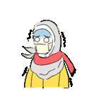 Lovely Aesha (Pastel Hijab)(個別スタンプ:31)