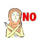 Lovely Aesha (Pastel Hijab)(個別スタンプ:39)
