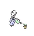 オーバーオールを着た陽気なおじさん(個別スタンプ:08)