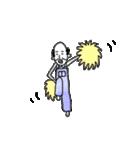 オーバーオールを着た陽気なおじさん(個別スタンプ:17)