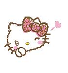 ハローキティ ガーリー♪アニメスタンプ(個別スタンプ:09)