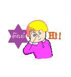 Pinky Ok(個別スタンプ:02)