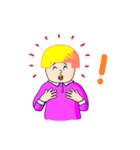 Pinky Ok(個別スタンプ:22)