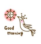 スタイリッシュな鳥(個別スタンプ:01)