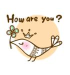 スタイリッシュな鳥(個別スタンプ:03)