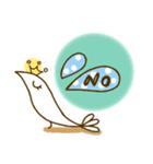 スタイリッシュな鳥(個別スタンプ:08)