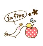 スタイリッシュな鳥(個別スタンプ:12)