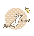 スタイリッシュな鳥(個別スタンプ:14)
