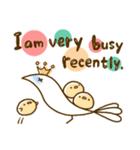 スタイリッシュな鳥(個別スタンプ:23)