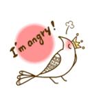 スタイリッシュな鳥(個別スタンプ:27)