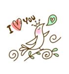 スタイリッシュな鳥(個別スタンプ:28)