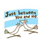 スタイリッシュな鳥(個別スタンプ:32)