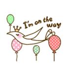 スタイリッシュな鳥(個別スタンプ:33)