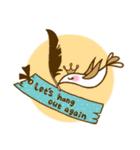 スタイリッシュな鳥(個別スタンプ:36)