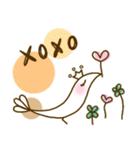 スタイリッシュな鳥(個別スタンプ:40)
