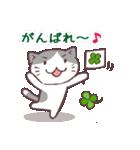 猫と四つ葉のクローバー 2(個別スタンプ:04)