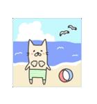 海パンにゃん ~夏~(個別スタンプ:01)