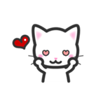 福猫ちゃん☆シンプル2段階(個別スタンプ:05)