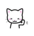 福猫ちゃん☆シンプル2段階(個別スタンプ:11)