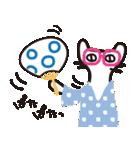夏の大人かわいいシュールな黒ネコ★(個別スタンプ:24)