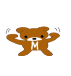 MAXくま(個別スタンプ:3)