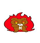 MAXくま(個別スタンプ:6)
