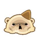 とろける!くま風アイスクリーム(個別スタンプ:32)
