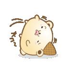 とろける!くま風アイスクリーム(個別スタンプ:40)
