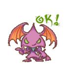 悪魔たちのささやき(個別スタンプ:01)