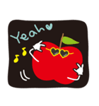 やさしい気づかいリンゴ。(個別スタンプ:03)