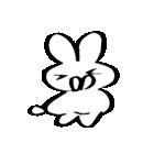 筆ペン兎2(個別スタンプ:05)