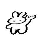 筆ペン兎2(個別スタンプ:06)
