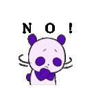 適当 無気力・脱力 パンダ(個別スタンプ:03)